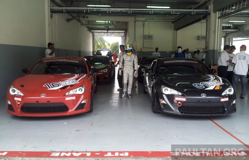 Toyota 86 – Sepang trackday in a stripped M/T racer Image #183549