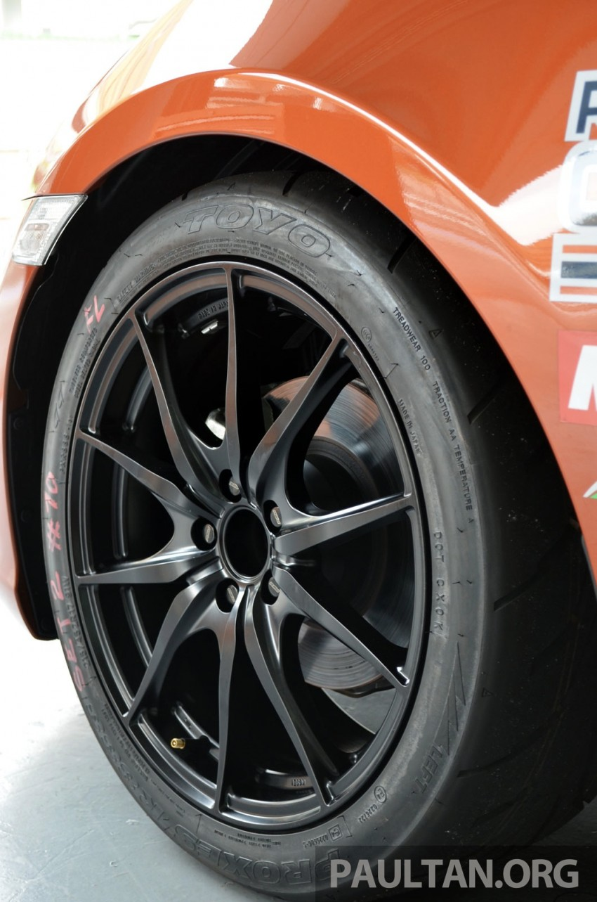 Toyota 86 – Sepang trackday in a stripped M/T racer Image #183517