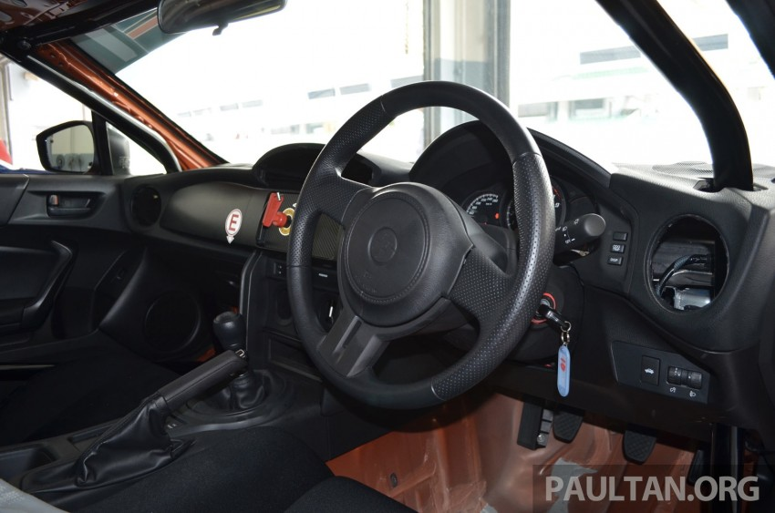 Toyota 86 – Sepang trackday in a stripped M/T racer Image #183518