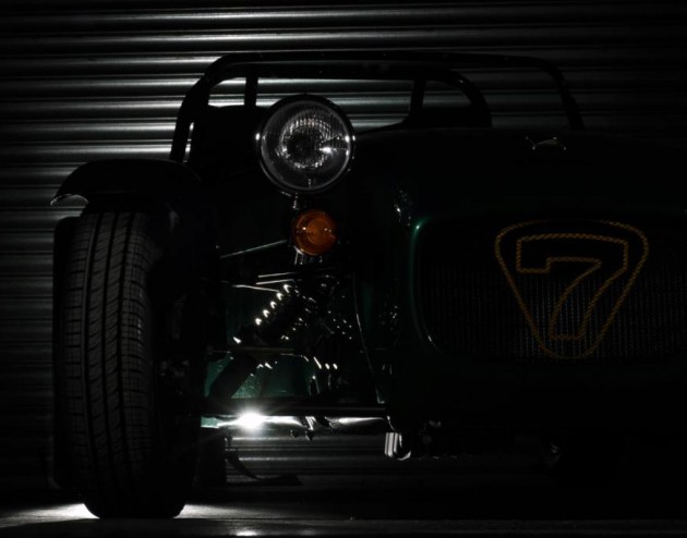 Caterham Seven entry-level teaser