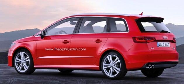 Audi A3 MPV by Theophilus Chin