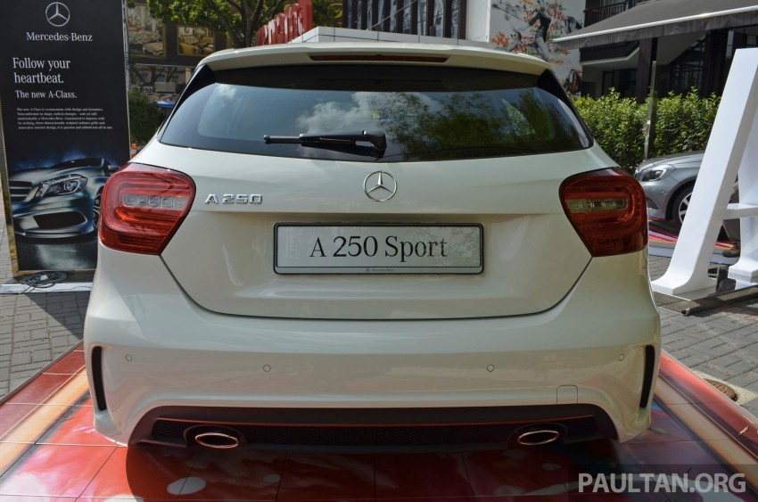 Mercedes-Benz A-Class launched – A 200, A 250 Sport Image #183178