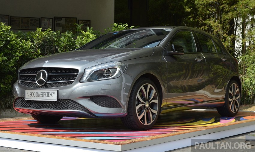 Mercedes-Benz A-Class launched – A 200, A 250 Sport Image #183182