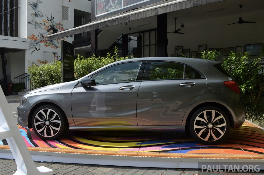 Mercedes-Benz A-Class launched – A 200, A 250 Sport Image #183186