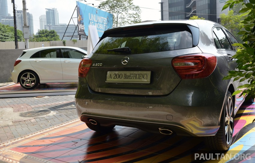 Mercedes-Benz A-Class launched – A 200, A 250 Sport Image #183187