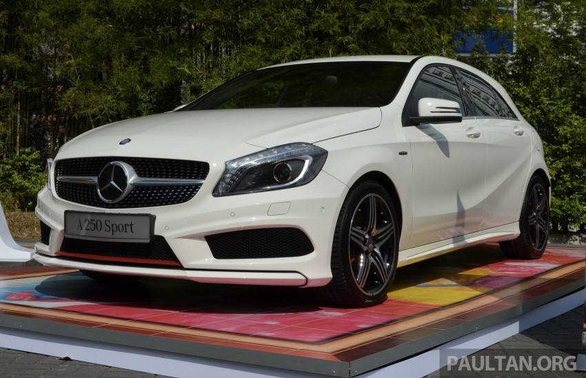 Mercedes-Benz A-Class launched – A 200, A 250 Sport Image #183170