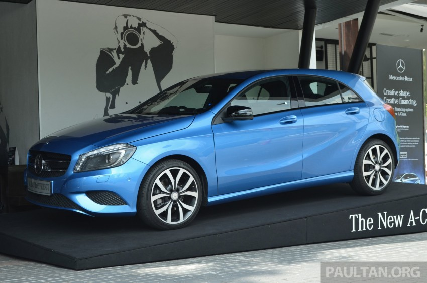 Mercedes-Benz A-Class launched – A 200, A 250 Sport Image #183189