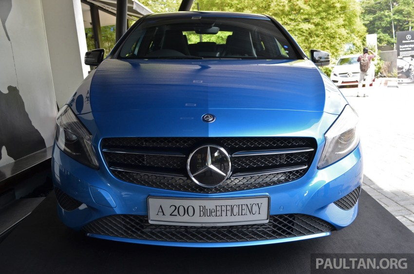 Mercedes-Benz A-Class launched – A 200, A 250 Sport Image #183195