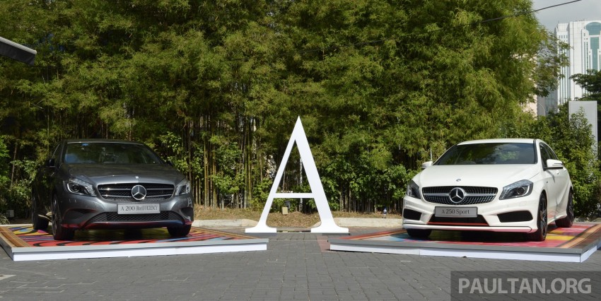 Mercedes-Benz A-Class launched – A 200, A 250 Sport Image #183172