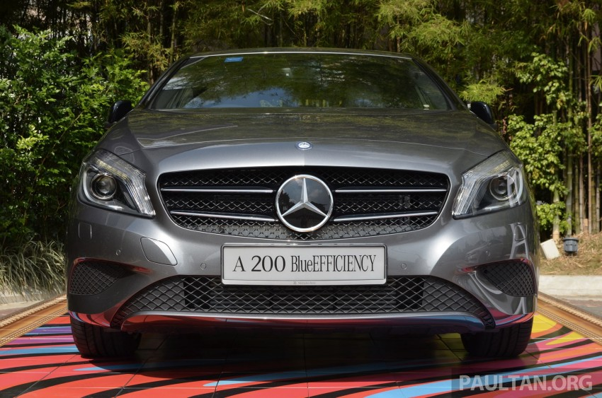 Mercedes-Benz A-Class launched – A 200, A 250 Sport Image #183173