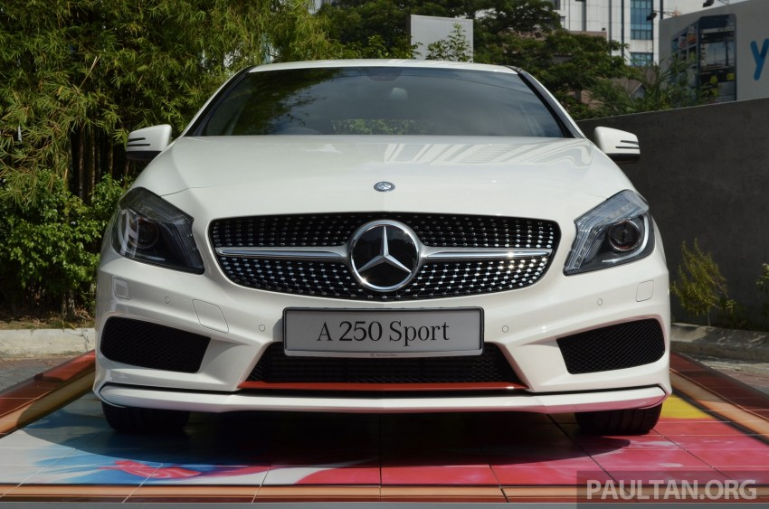 Mercedes-Benz A-Class launched – A 200, A 250 Sport Image #183174