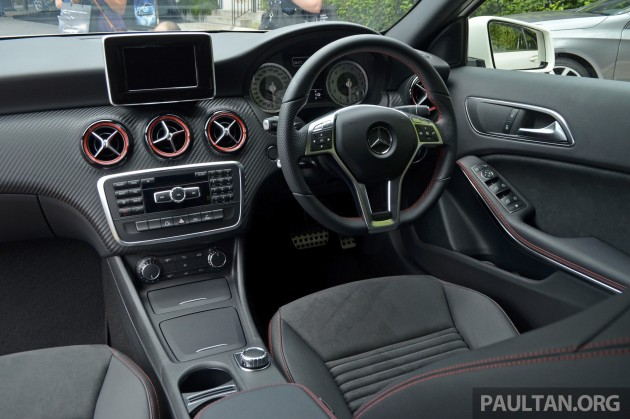 Mercedes benz a class launched in malaysia a200 and a250 for 2017 mercedes benz gla 250 floor mats