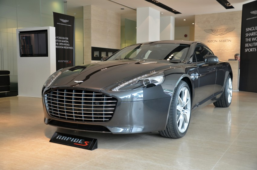 Aston Martin Rapide S introduced – from RM1.9 mil Image #182310