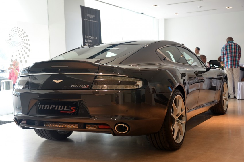 Aston Martin Rapide S introduced – from RM1.9 mil Image #182312