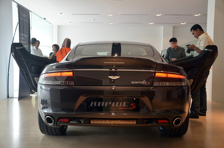 Aston Martin Rapide S introduced – from RM1.9 mil Image #182313