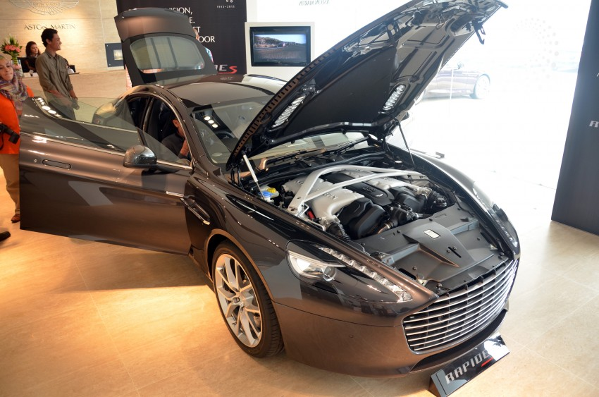 Aston Martin Rapide S introduced – from RM1.9 mil Image #182314