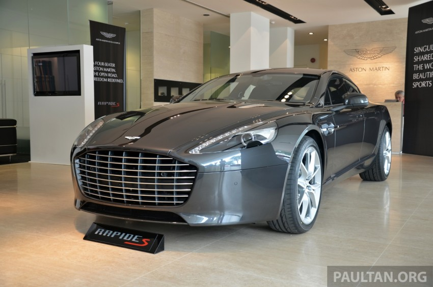 Aston Martin Rapide S introduced – from RM1.9 mil Image #182583