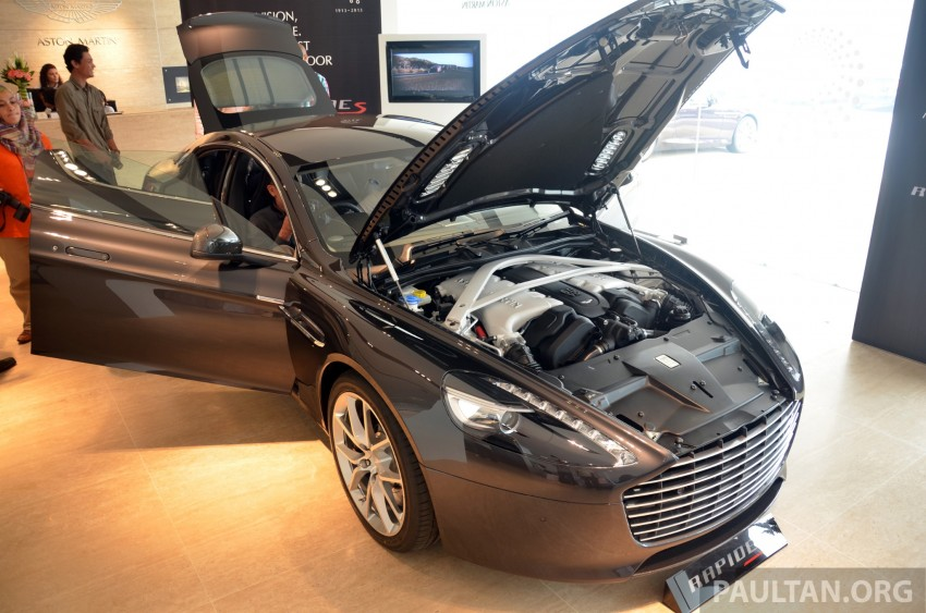 Aston Martin Rapide S introduced – from RM1.9 mil Image #182575
