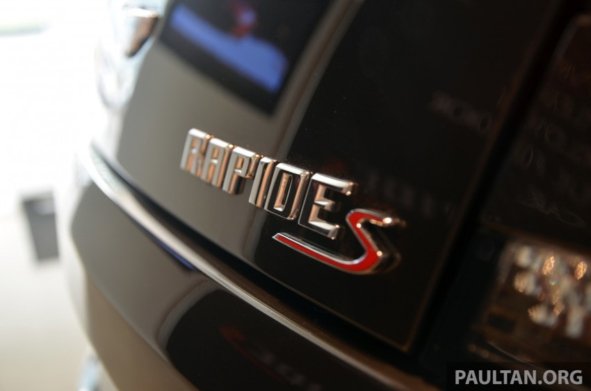 Aston Martin Rapide S introduced – from RM1.9 mil Image #182578