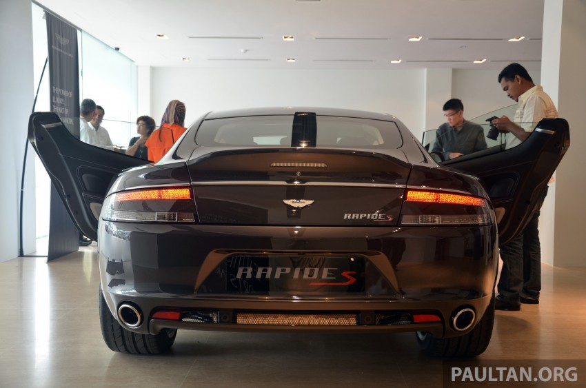 Aston Martin Rapide S introduced – from RM1.9 mil Image #182579