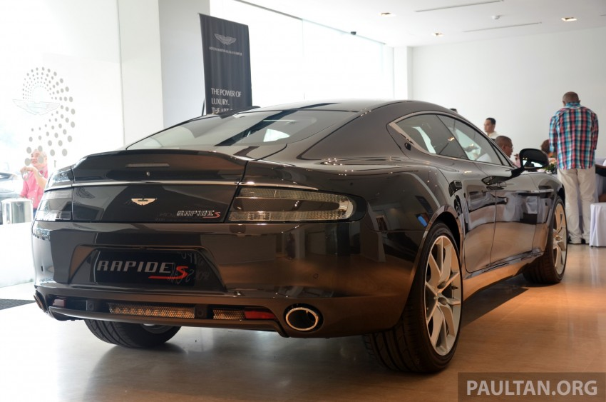 Aston Martin Rapide S introduced – from RM1.9 mil Image #182582