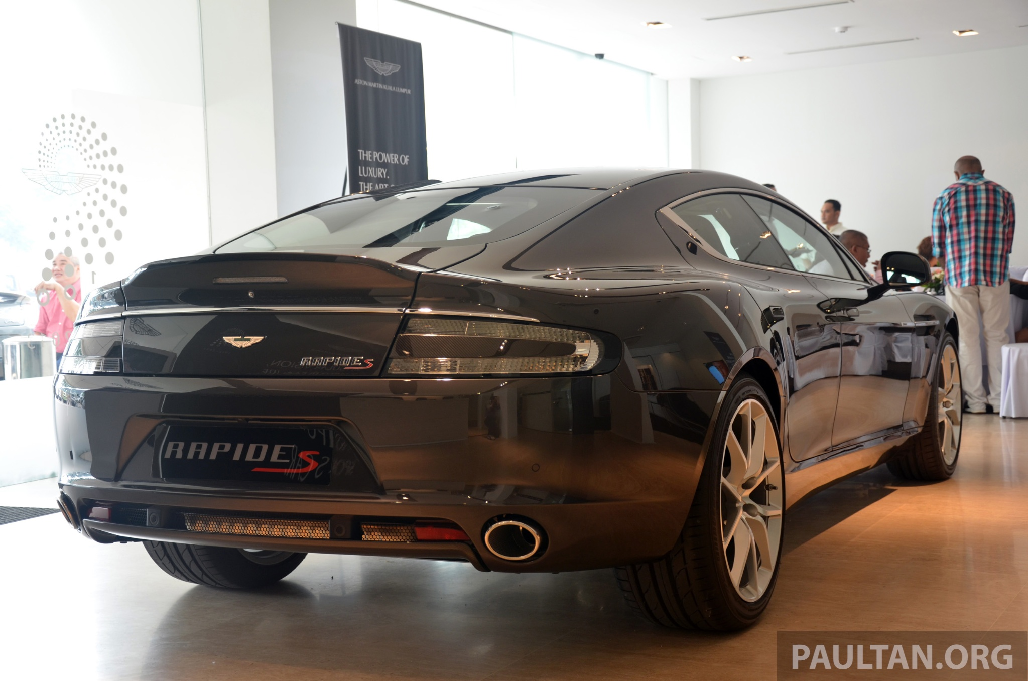 aston martin rapide s introduced - from rm1.9 mil