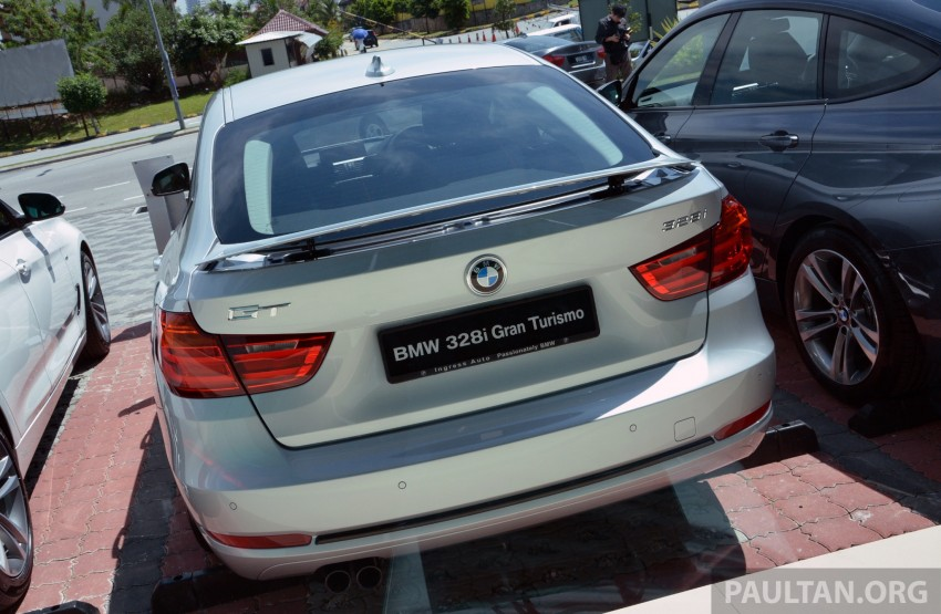 BMW 3 Series Gran Turismo debuts: 328i GT, RM349k Image #179036