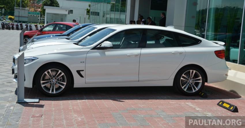 BMW 3 Series Gran Turismo debuts: 328i GT, RM349k Image #179037
