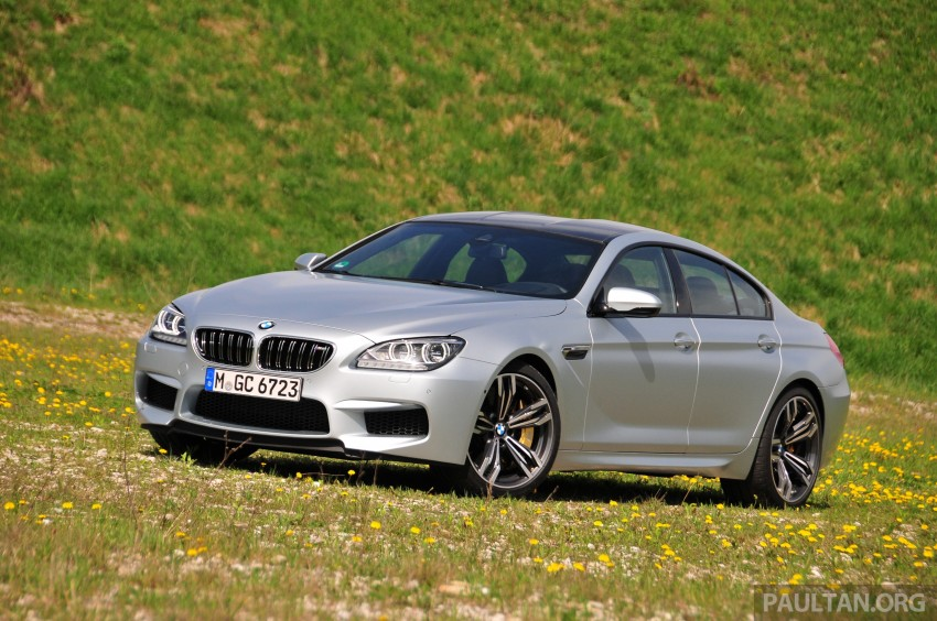 DRIVEN: New BMW M6 Gran Coupe tested in Munich Image #181991