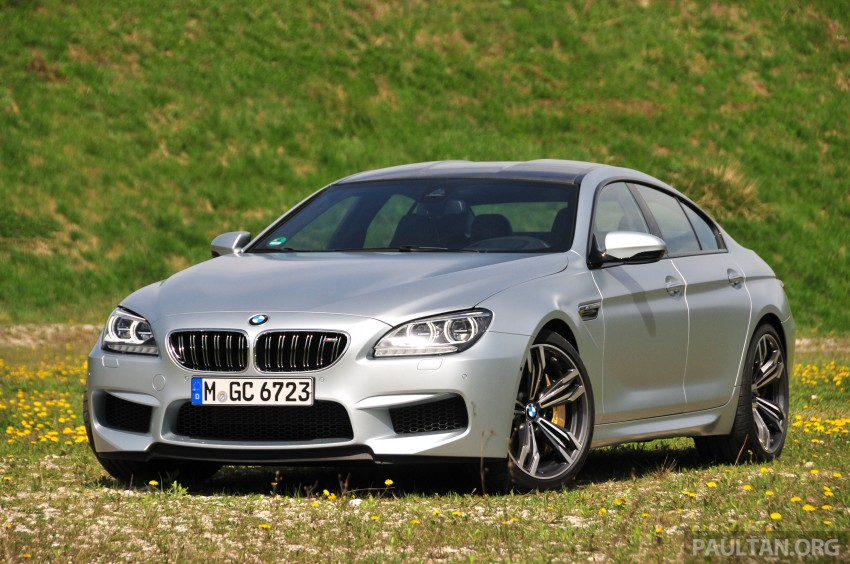 DRIVEN: New BMW M6 Gran Coupe tested in Munich Image #181992