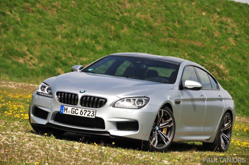 DRIVEN: New BMW M6 Gran Coupe tested in Munich Image #181993