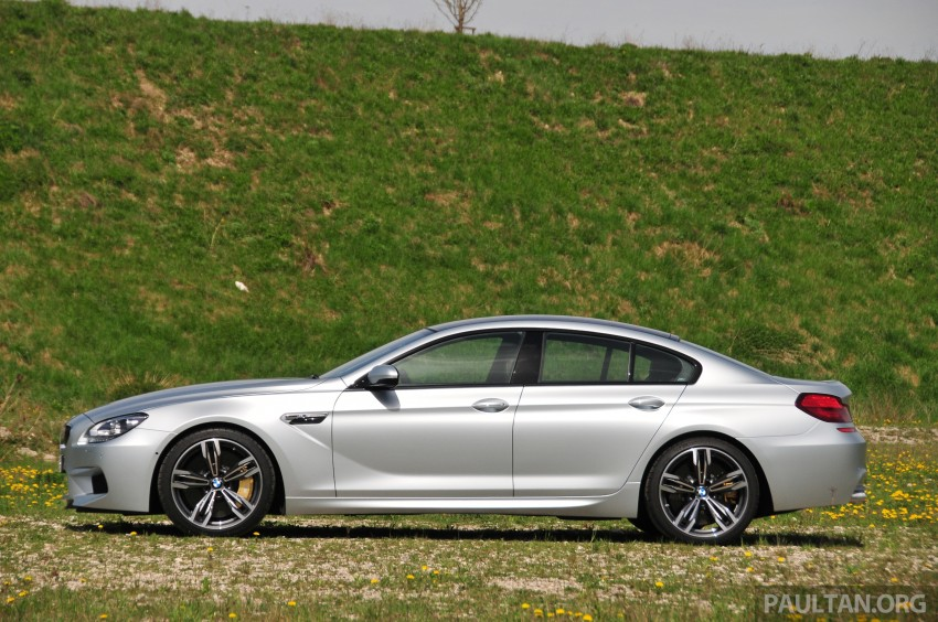 DRIVEN: New BMW M6 Gran Coupe tested in Munich Image #181994