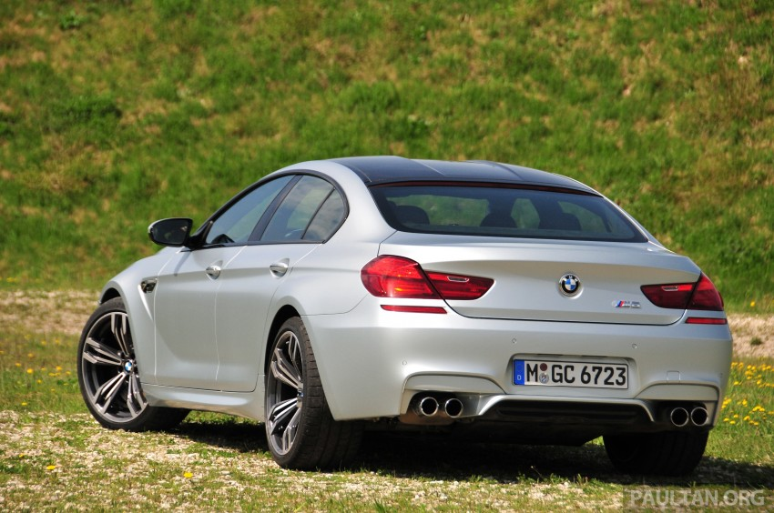 DRIVEN: New BMW M6 Gran Coupe tested in Munich Image #181995