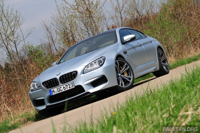 DRIVEN: New BMW M6 Gran Coupe tested in Munich Image #181996