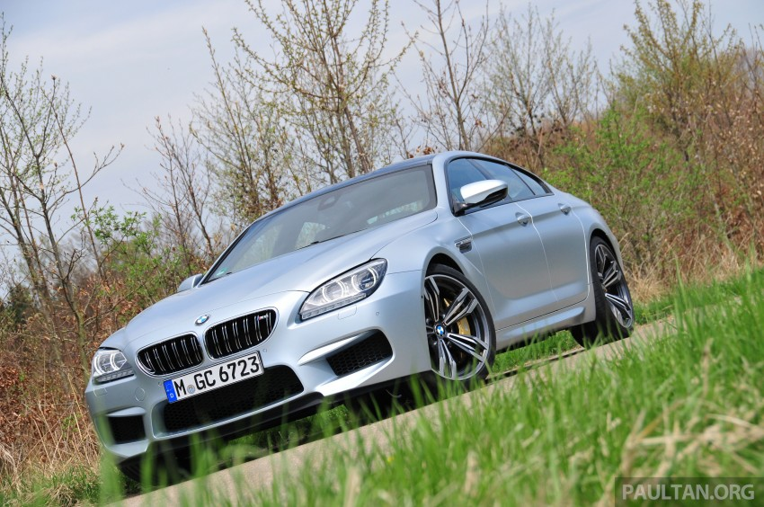 DRIVEN: New BMW M6 Gran Coupe tested in Munich Image #181997