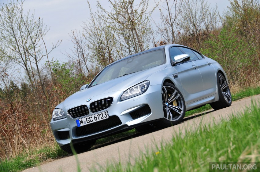 DRIVEN: New BMW M6 Gran Coupe tested in Munich Image #181998