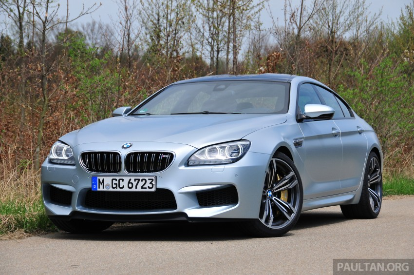 DRIVEN: New BMW M6 Gran Coupe tested in Munich Image #181999