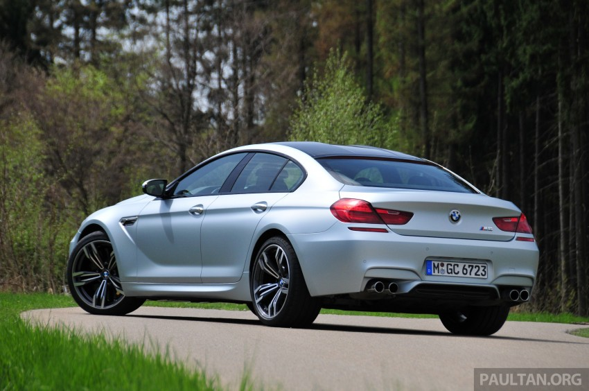 DRIVEN: New BMW M6 Gran Coupe tested in Munich Image #182000