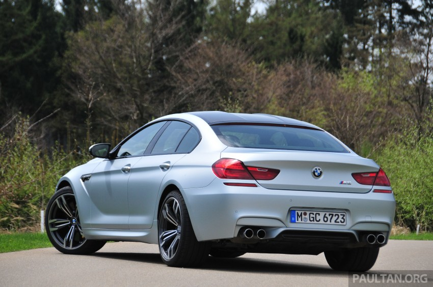 DRIVEN: New BMW M6 Gran Coupe tested in Munich Image #182001