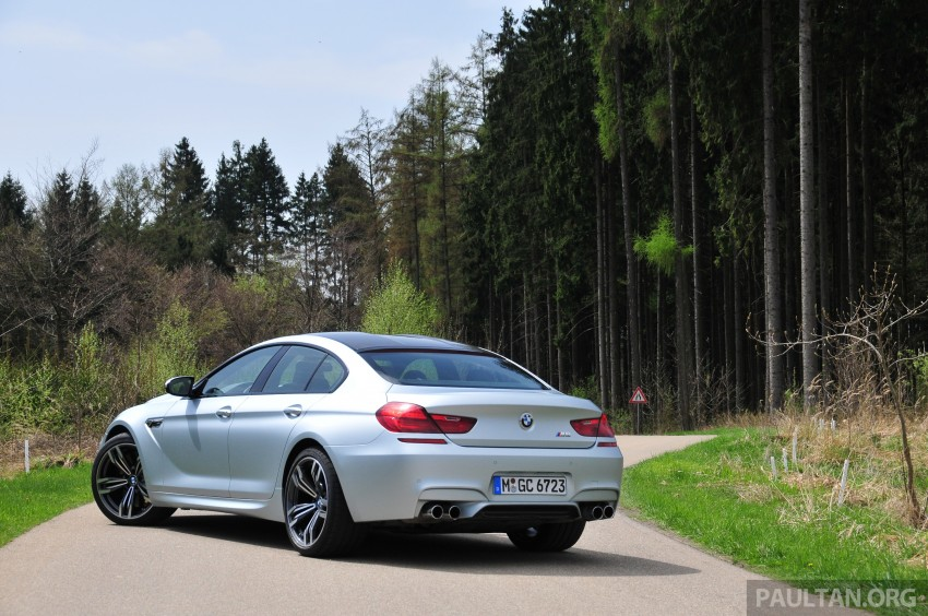DRIVEN: New BMW M6 Gran Coupe tested in Munich Image #182002