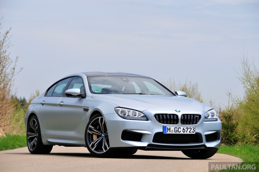 DRIVEN: New BMW M6 Gran Coupe tested in Munich Image #182004