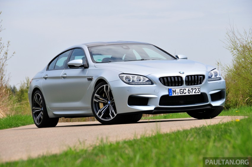 DRIVEN: New BMW M6 Gran Coupe tested in Munich Image #182005