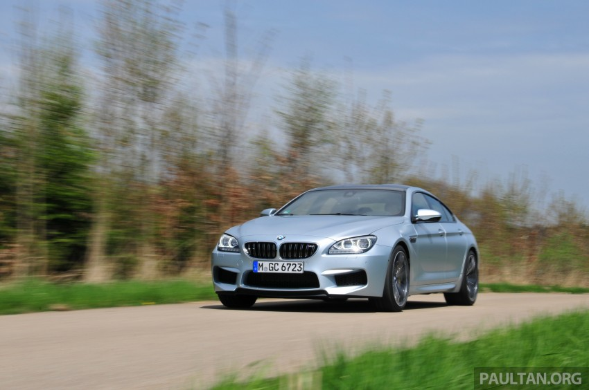 DRIVEN: New BMW M6 Gran Coupe tested in Munich Image #182007