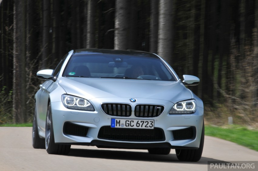 DRIVEN: New BMW M6 Gran Coupe tested in Munich Image #182008