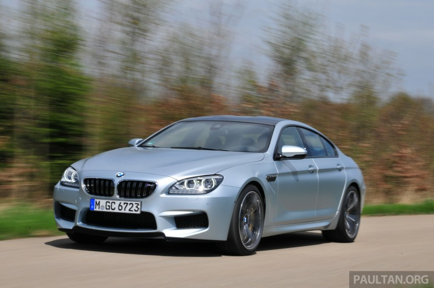 DRIVEN: New BMW M6 Gran Coupe tested in Munich Image #182009