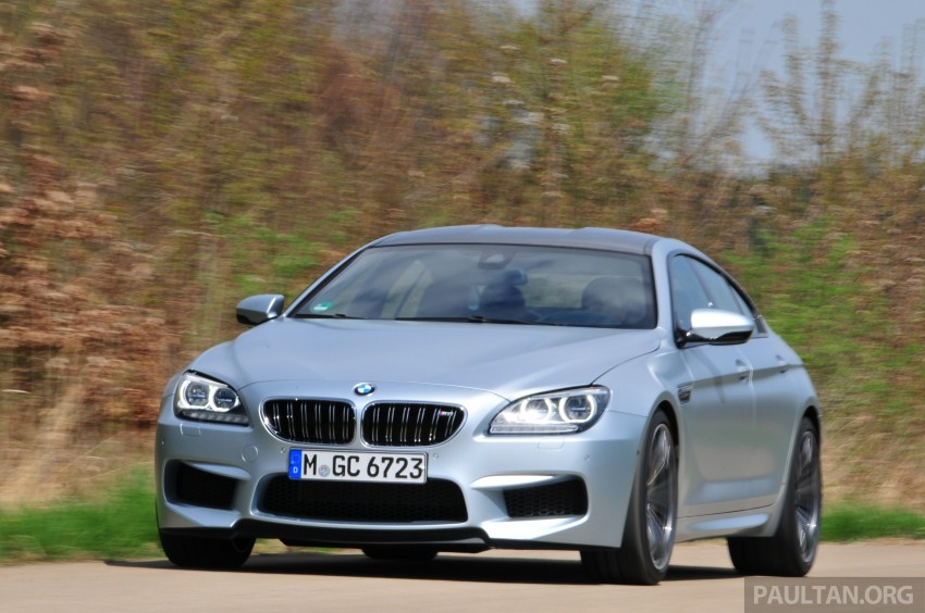 DRIVEN: New BMW M6 Gran Coupe tested in Munich Image #182010