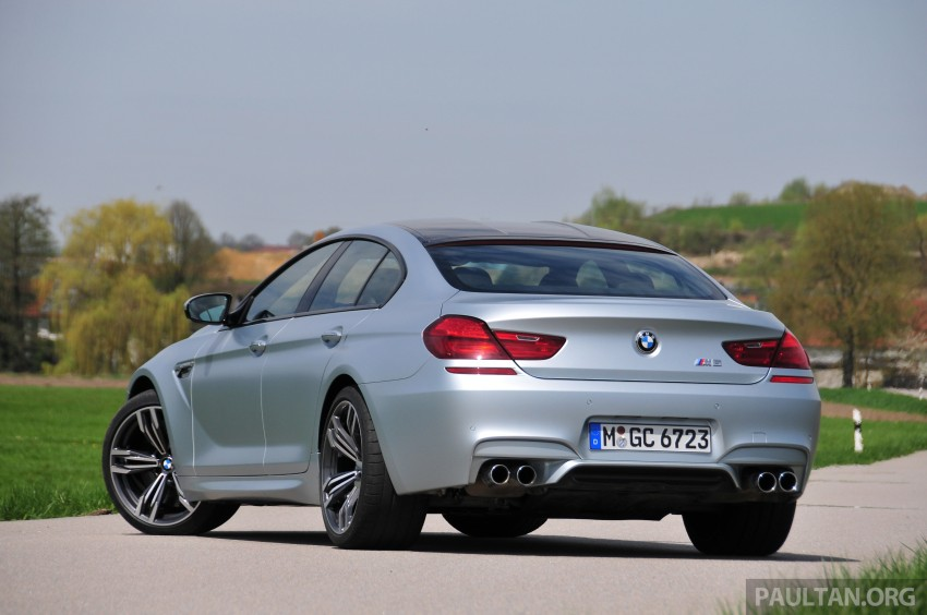 DRIVEN: New BMW M6 Gran Coupe tested in Munich Image #182012