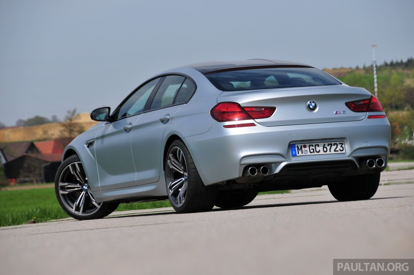 DRIVEN: New BMW M6 Gran Coupe tested in Munich Image #182013