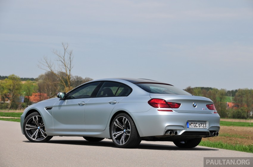 DRIVEN: New BMW M6 Gran Coupe tested in Munich Image #182014
