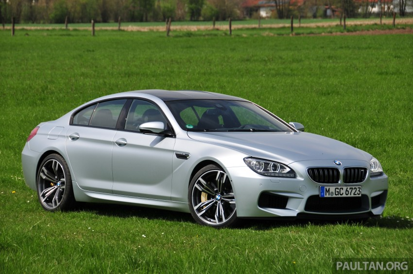 DRIVEN: New BMW M6 Gran Coupe tested in Munich Image #182015